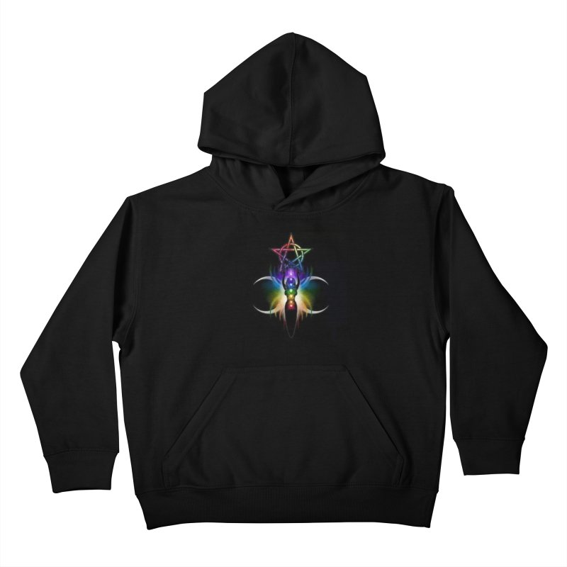 GoddessMoon Kids Pullover Hoody by The Ways of The Old's Artist Shop