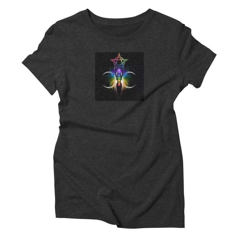 GoddessMoon Women's Triblend T-Shirt by The Ways of The Old's Artist Shop