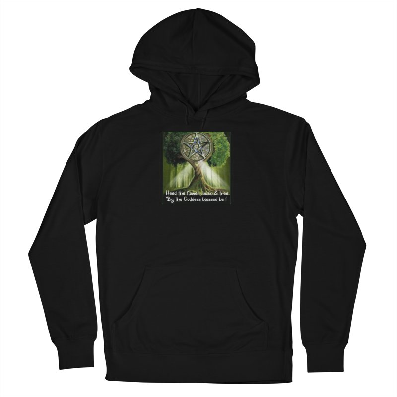 GoddessBlessedBe Men's French Terry Pullover Hoody by The Ways of The Old's Artist Shop