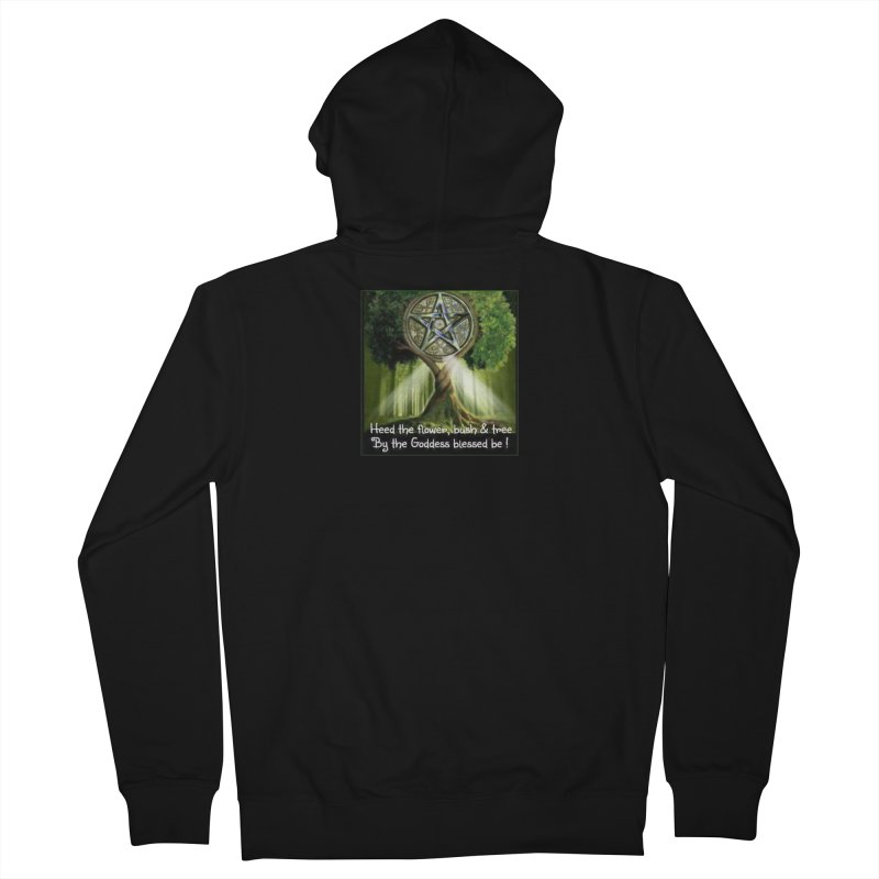 GoddessBlessedBe Men's French Terry Zip-Up Hoody by The Ways of The Old's Artist Shop