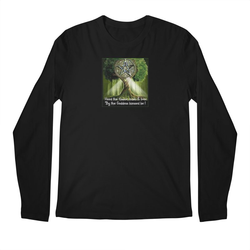 GoddessBlessedBe Men's Regular Longsleeve T-Shirt by The Ways of The Old's Artist Shop