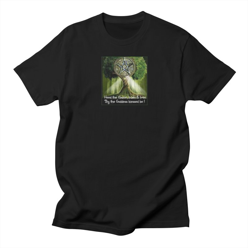 GoddessBlessedBe Women's Regular Unisex T-Shirt by The Ways of The Old's Artist Shop