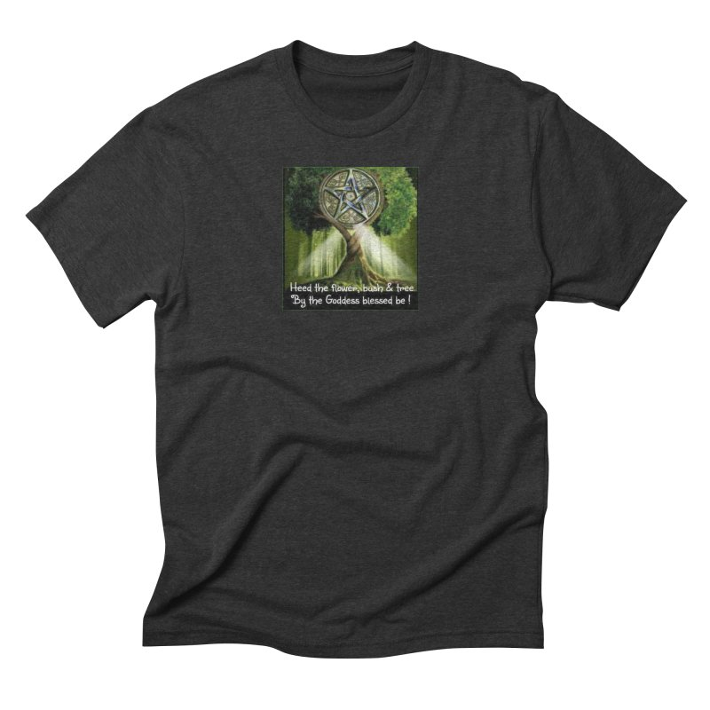 GoddessBlessedBe Men's Triblend T-Shirt by The Ways of The Old's Artist Shop