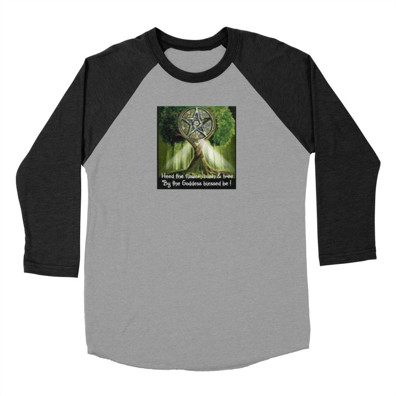 GoddessBlessedBe Men's Baseball Triblend Longsleeve T-Shirt by The Ways of The Old's Artist Shop