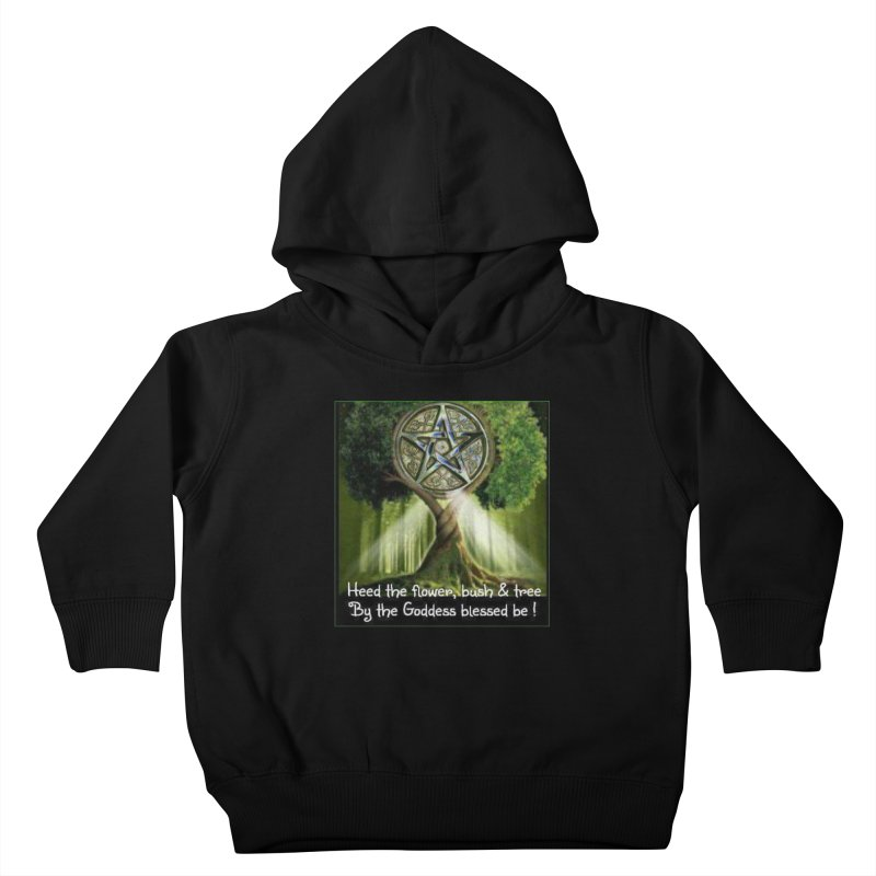 GoddessBlessedBe Kids Toddler Pullover Hoody by The Ways of The Old's Artist Shop