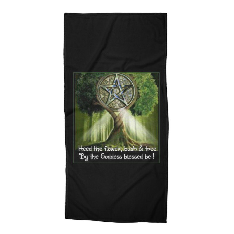 GoddessBlessedBe Accessories Beach Towel by The Ways of The Old's Artist Shop