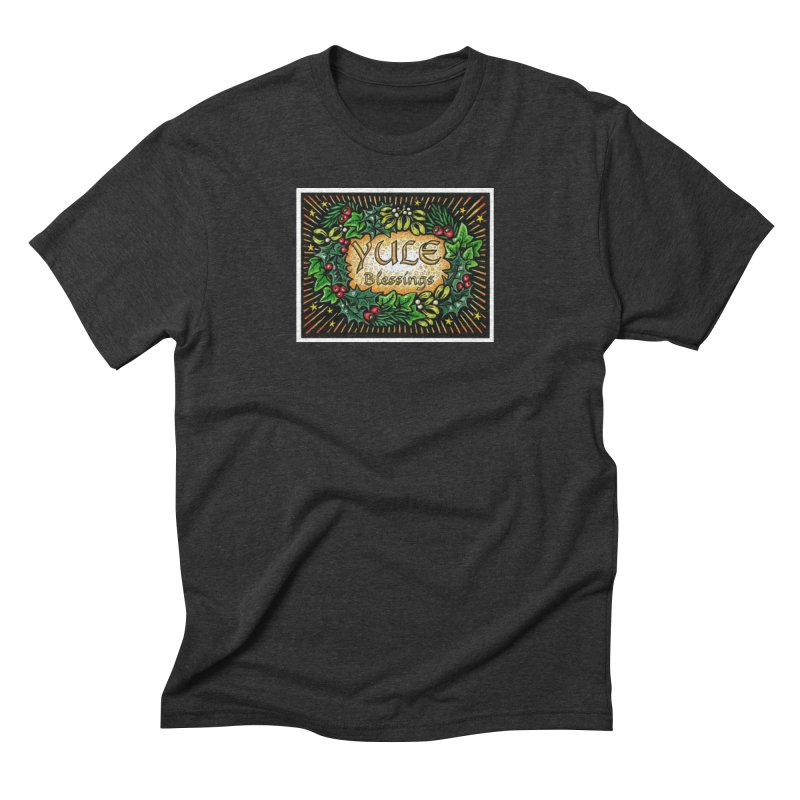 YuleBlessings Men's Triblend T-Shirt by The Ways of The Old's Artist Shop
