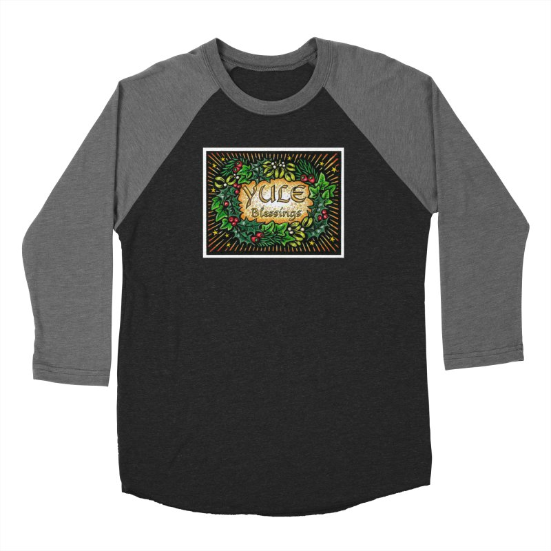 YuleBlessings Men's Baseball Triblend Longsleeve T-Shirt by The Ways of The Old's Artist Shop