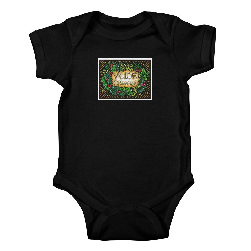 YuleBlessings Kids Baby Bodysuit by The Ways of The Old's Artist Shop