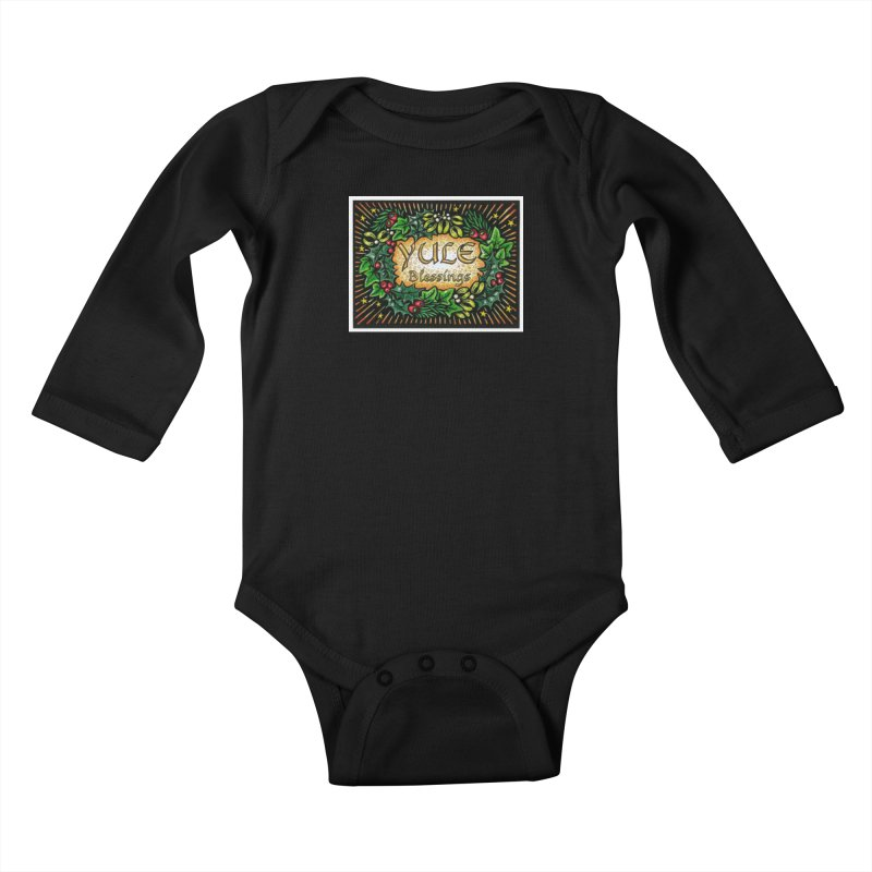YuleBlessings Kids Baby Longsleeve Bodysuit by The Ways of The Old's Artist Shop