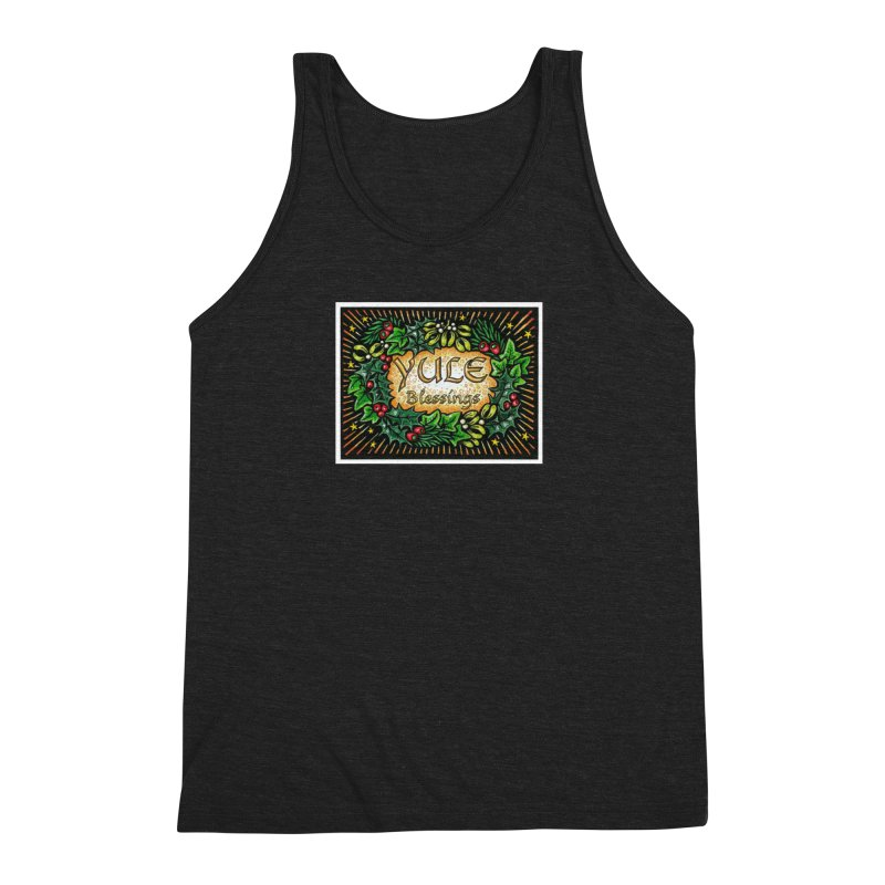 YuleBlessings Men's Triblend Tank by The Ways of The Old's Artist Shop