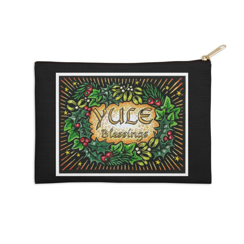 YuleBlessings Accessories Zip Pouch by The Ways of The Old's Artist Shop