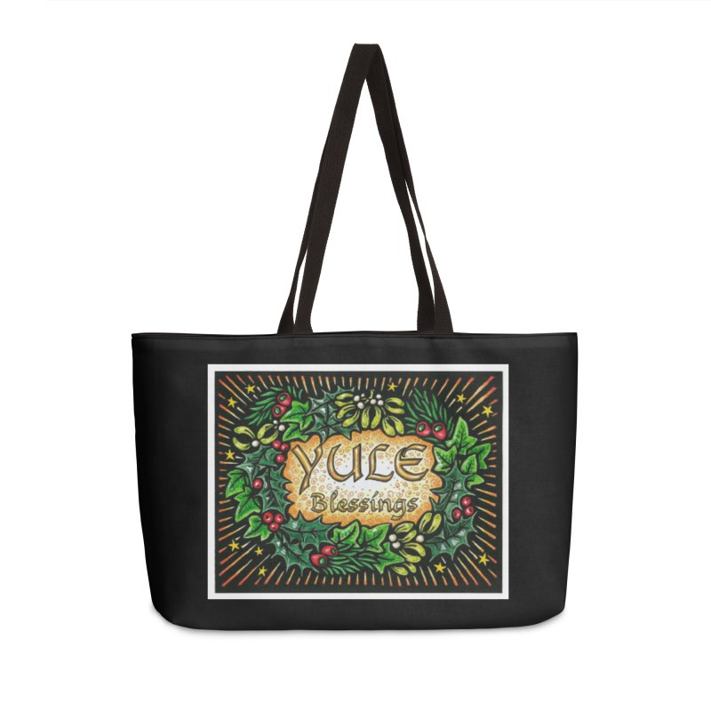 YuleBlessings Accessories Weekender Bag Bag by The Ways of The Old's Artist Shop