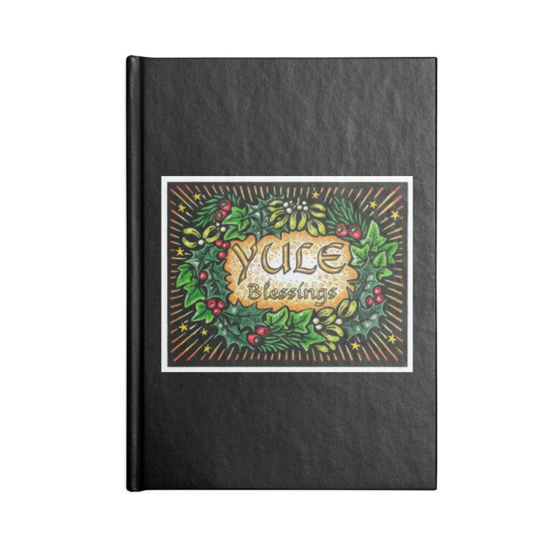 YuleBlessings Accessories Lined Journal Notebook by The Ways of The Old's Artist Shop