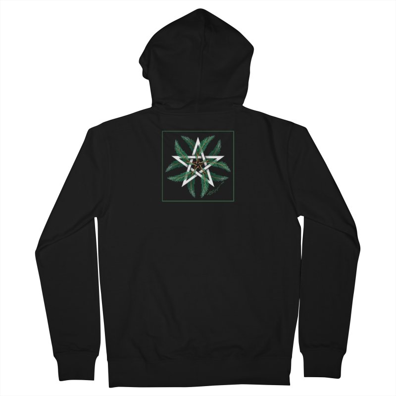 YuleQuarters Men's French Terry Zip-Up Hoody by The Ways of The Old's Artist Shop