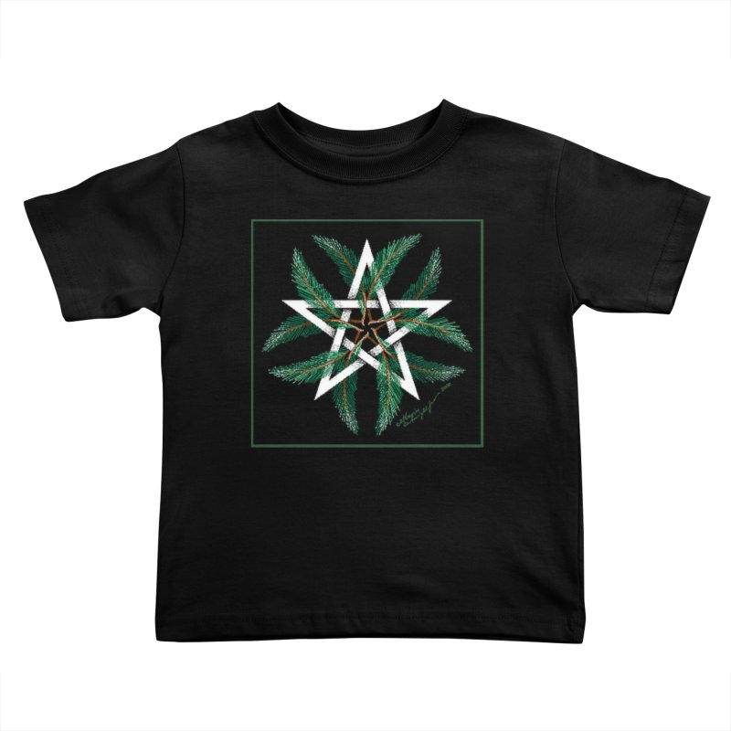 YuleQuarters Kids Toddler T-Shirt by The Ways of The Old's Artist Shop