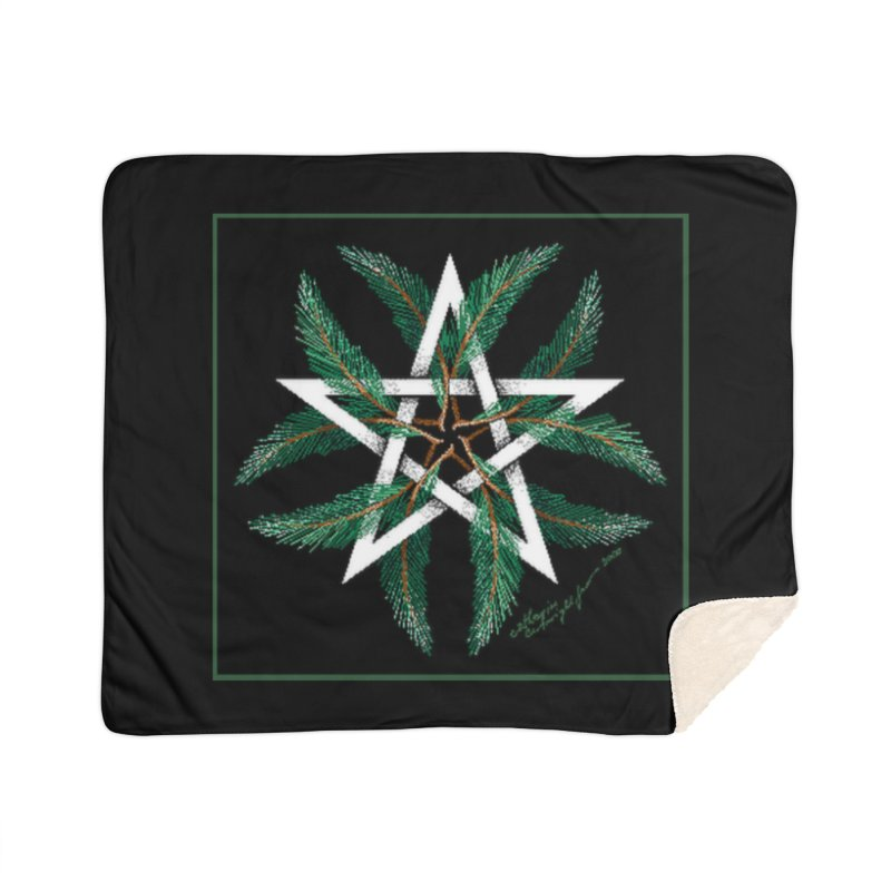 YuleQuarters Home Sherpa Blanket Blanket by The Ways of The Old's Artist Shop