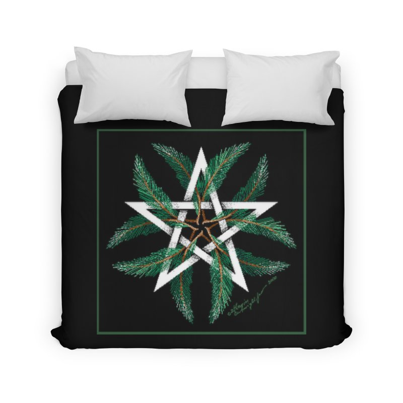 YuleQuarters Home Duvet by The Ways of The Old's Artist Shop