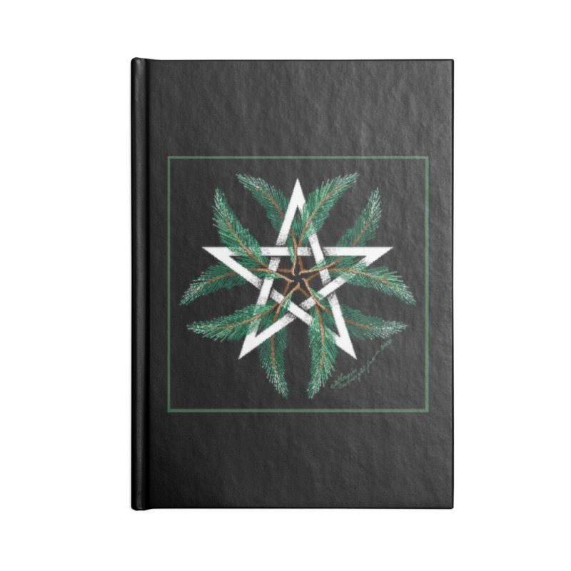YuleQuarters Accessories Lined Journal Notebook by The Ways of The Old's Artist Shop