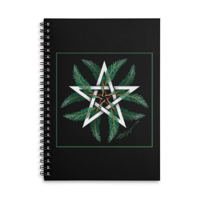 YuleQuarters Accessories Lined Spiral Notebook by The Ways of The Old's Artist Shop