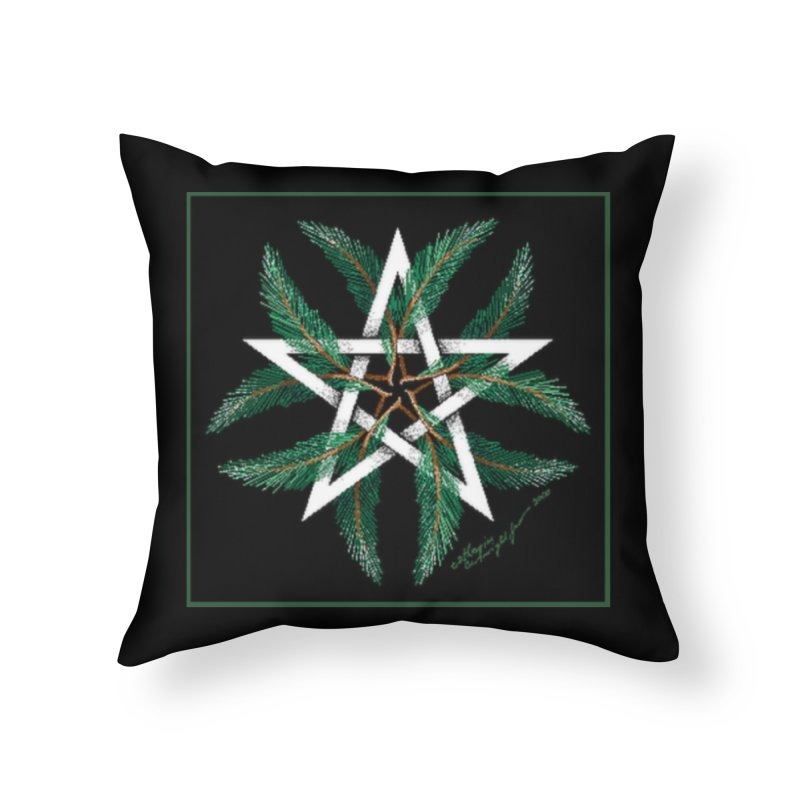 YuleQuarters Home Throw Pillow by The Ways of The Old's Artist Shop