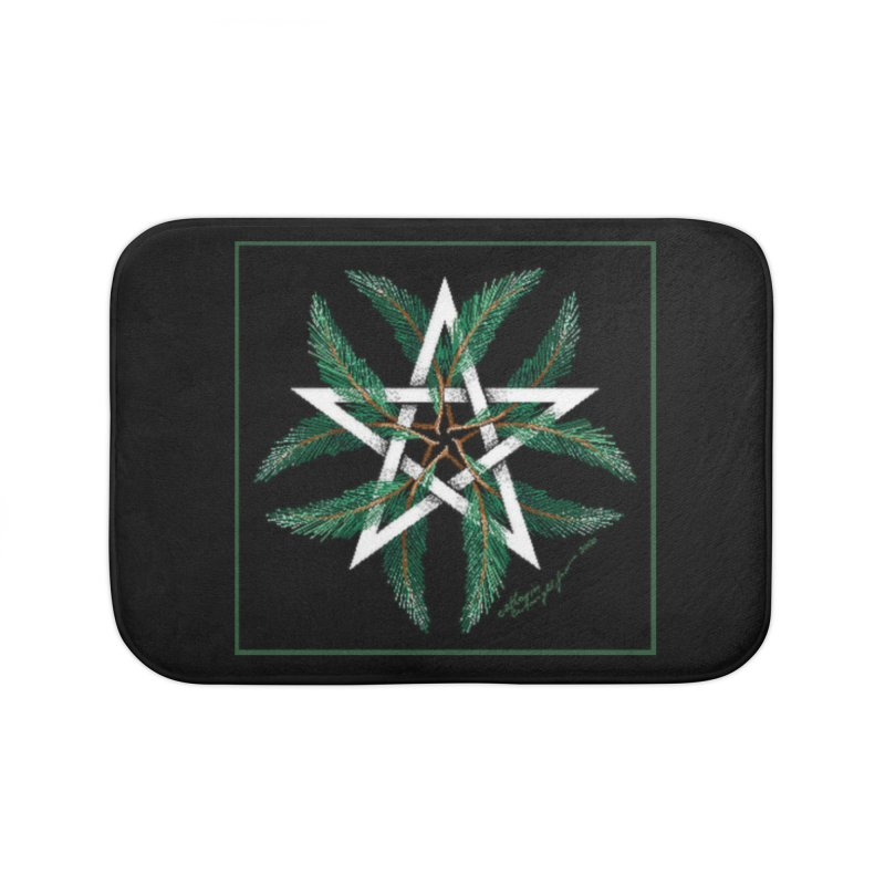 YuleQuarters Home Bath Mat by The Ways of The Old's Artist Shop