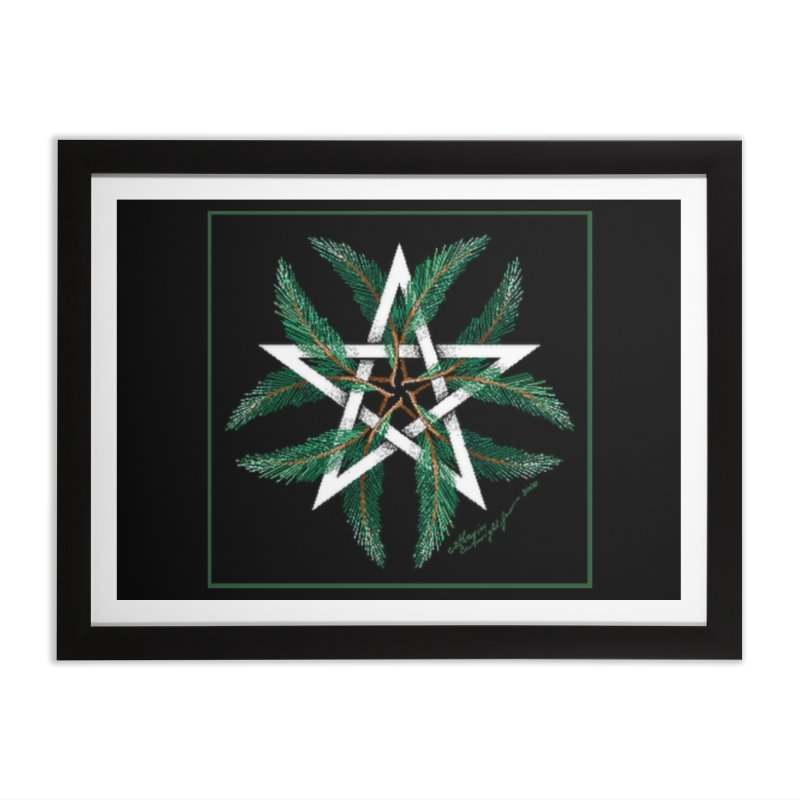 YuleQuarters Home Framed Fine Art Print by The Ways of The Old's Artist Shop