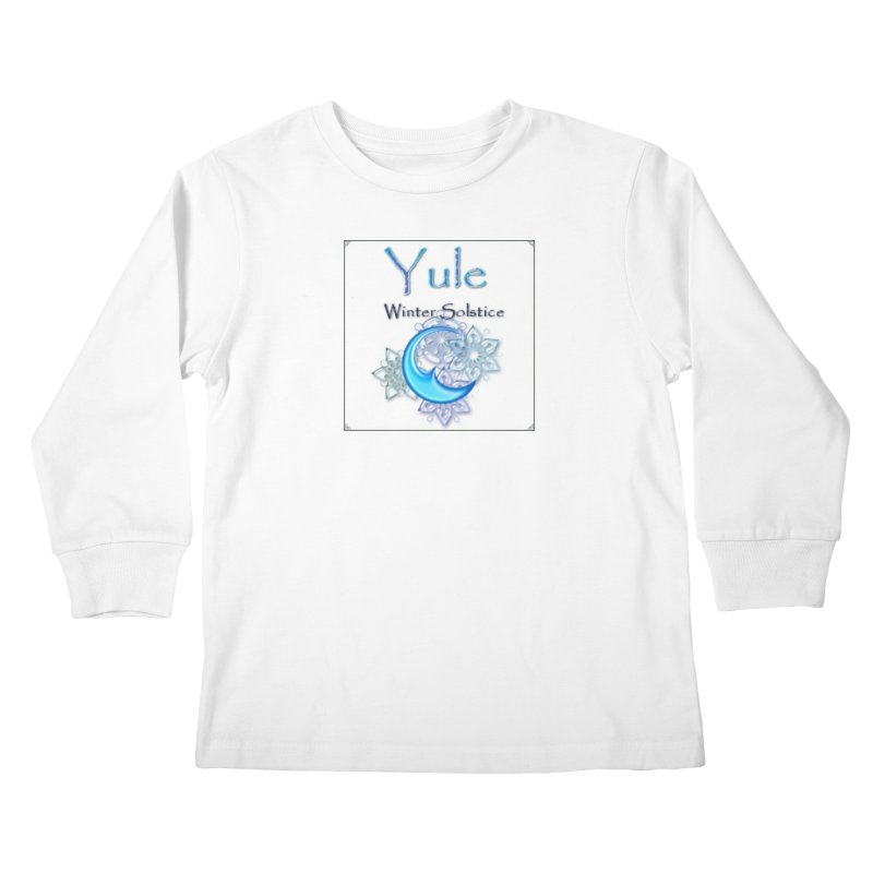 YuleSolstice Kids Longsleeve T-Shirt by The Ways of The Old's Artist Shop
