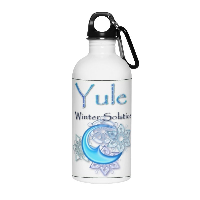 YuleSolstice Accessories Water Bottle by The Ways of The Old's Artist Shop