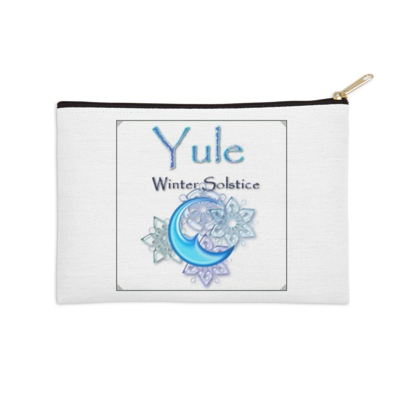 YuleSolstice Accessories Zip Pouch by The Ways of The Old's Artist Shop