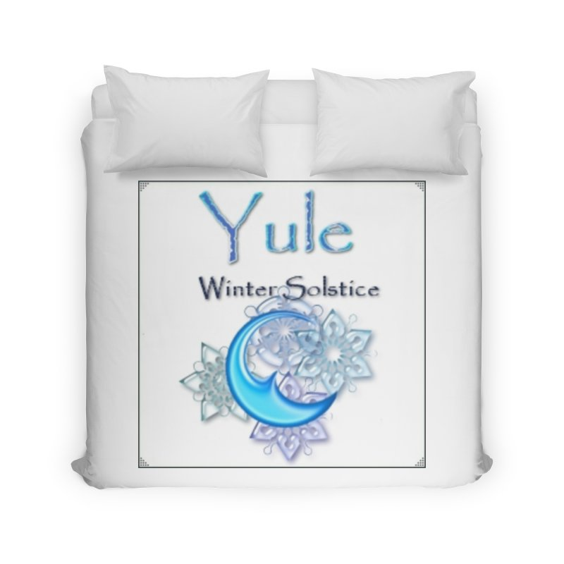 YuleSolstice Home Duvet by The Ways of The Old's Artist Shop