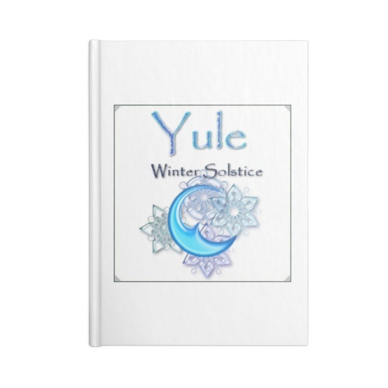 YuleSolstice Accessories Blank Journal Notebook by The Ways of The Old's Artist Shop