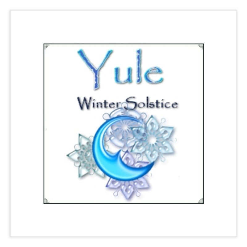 YuleSolstice Home Fine Art Print by The Ways of The Old's Artist Shop