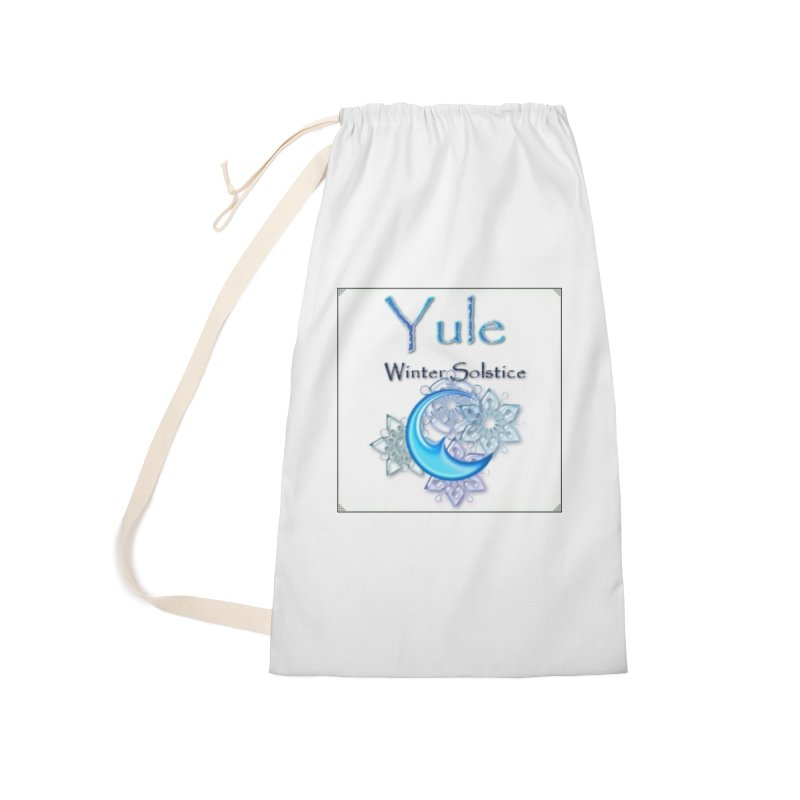 YuleSolstice Accessories Laundry Bag Bag by The Ways of The Old's Artist Shop