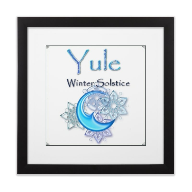 YuleSolstice Home Framed Fine Art Print by The Ways of The Old's Artist Shop