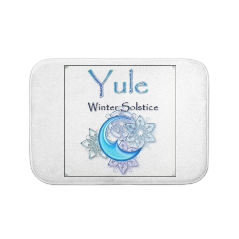 YuleSolstice Home Bath Mat by The Ways of The Old's Artist Shop