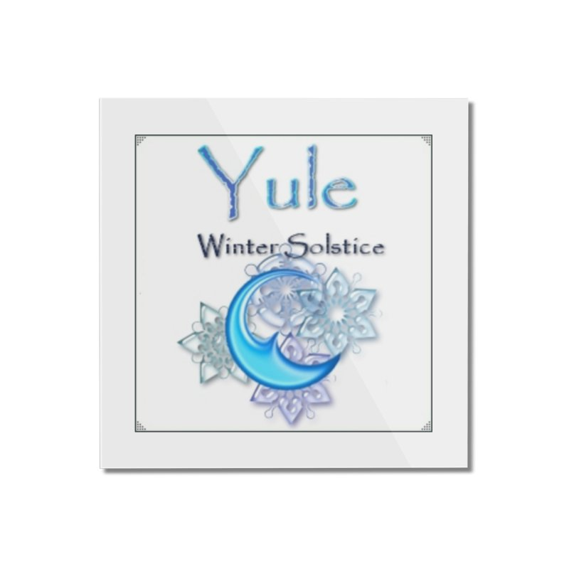YuleSolstice Home Mounted Acrylic Print by The Ways of The Old's Artist Shop