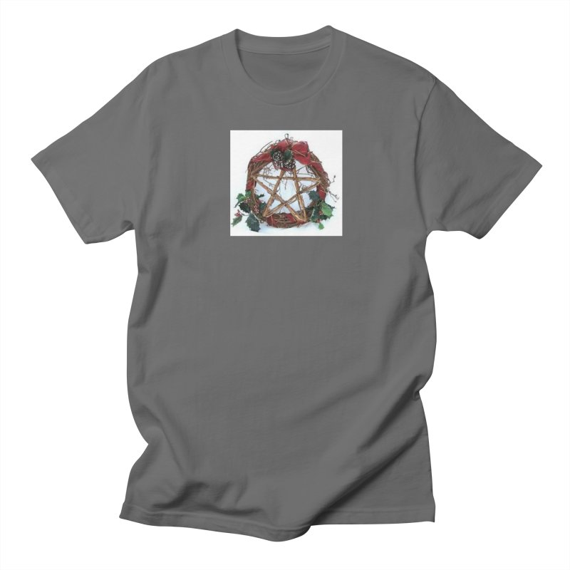 YuleWreath Men's T-Shirt by The Ways of The Old's Artist Shop