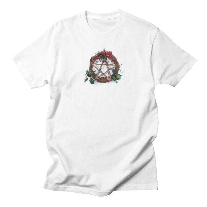 YuleWreath Women's Regular Unisex T-Shirt by The Ways of The Old's Artist Shop