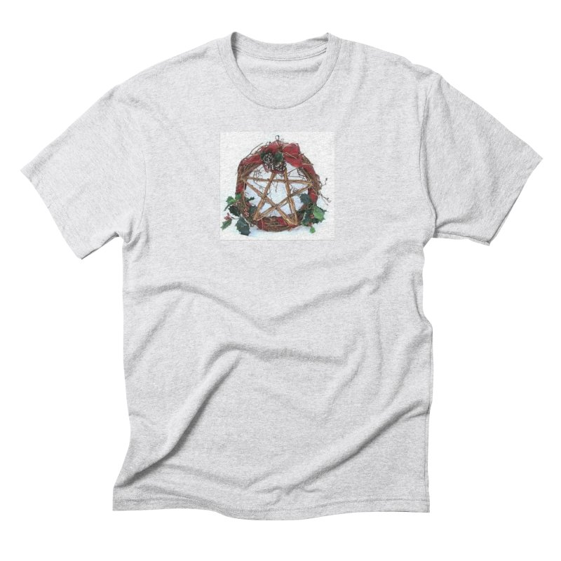 YuleWreath Men's Triblend T-Shirt by The Ways of The Old's Artist Shop