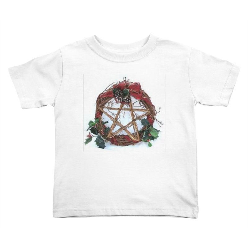 YuleWreath Kids Toddler T-Shirt by The Ways of The Old's Artist Shop