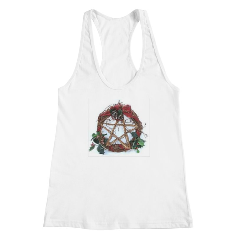 YuleWreath Women's Racerback Tank by The Ways of The Old's Artist Shop