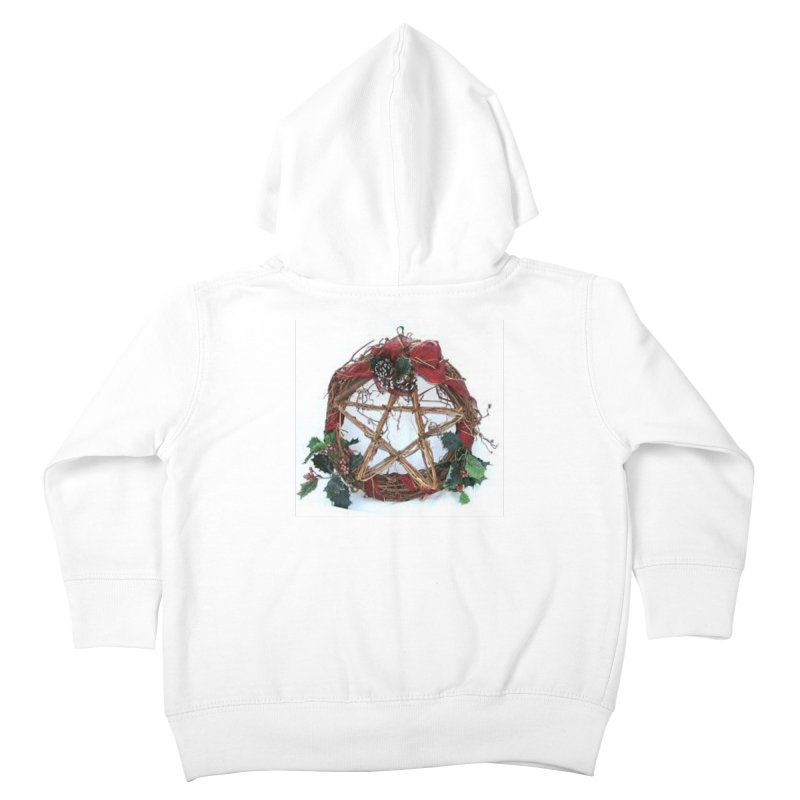 YuleWreath Kids Toddler Zip-Up Hoody by The Ways of The Old's Artist Shop