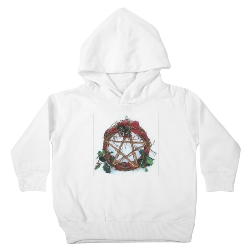 YuleWreath Kids Toddler Pullover Hoody by The Ways of The Old's Artist Shop