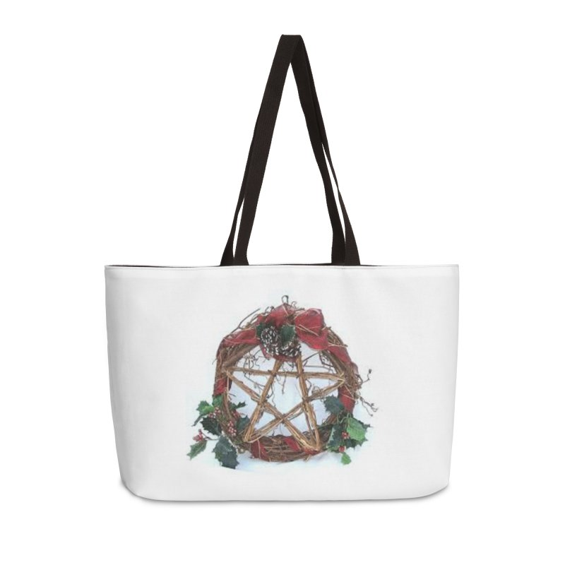 YuleWreath Accessories Weekender Bag Bag by The Ways of The Old's Artist Shop