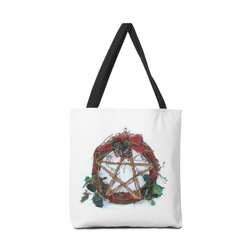 YuleWreath Accessories Tote Bag Bag by The Ways of The Old's Artist Shop