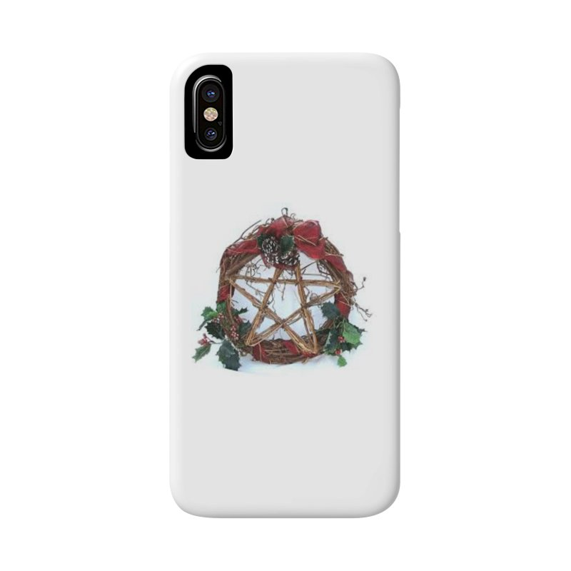 YuleWreath Accessories Phone Case by The Ways of The Old's Artist Shop