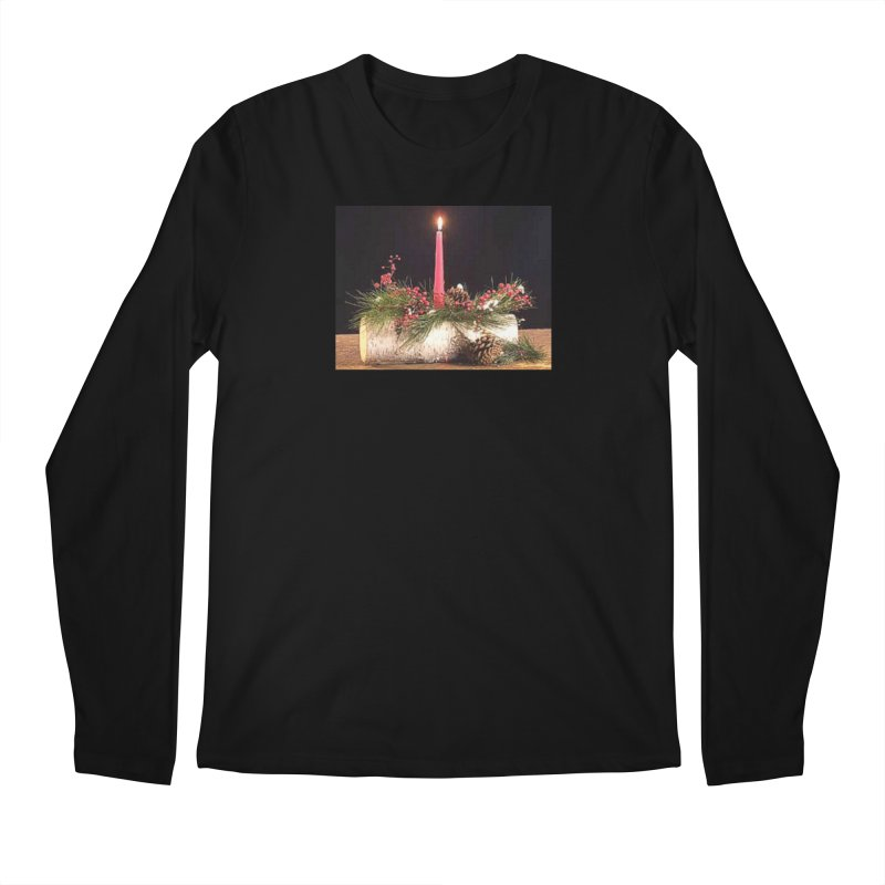 YuleLog Men's Regular Longsleeve T-Shirt by The Ways of The Old's Artist Shop