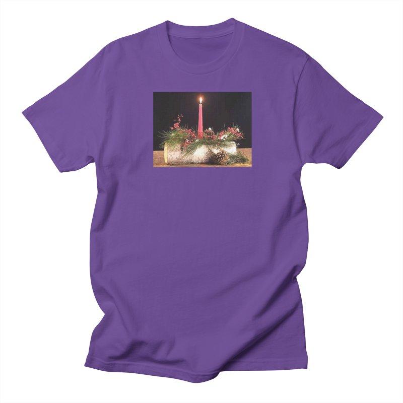 YuleLog Men's Regular T-Shirt by The Ways of The Old's Artist Shop