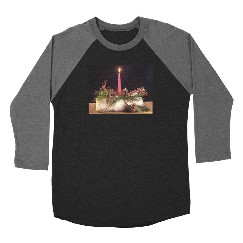 YuleLog Women's Baseball Triblend Longsleeve T-Shirt by The Ways of The Old's Artist Shop